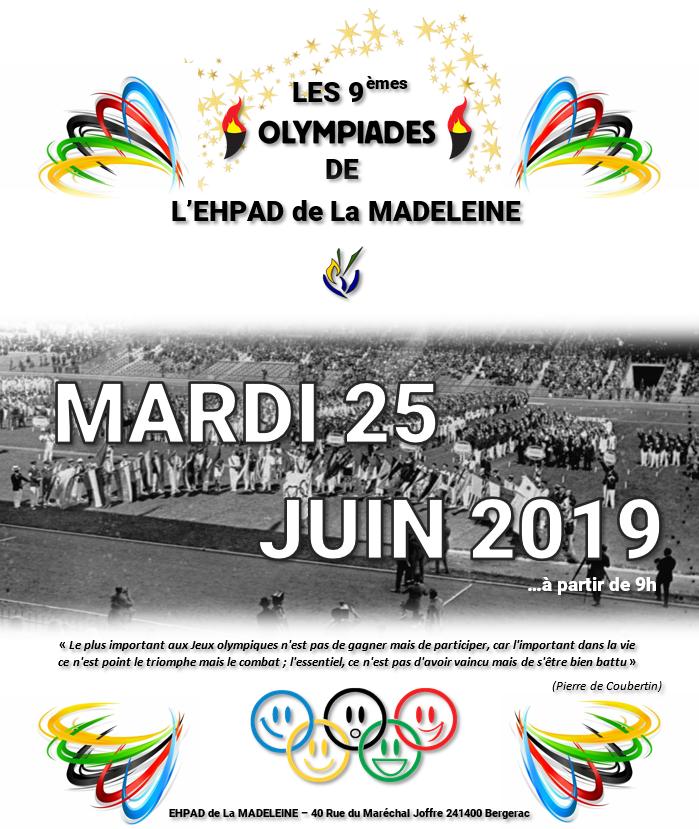 Les 9èmes Olympiades