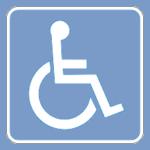Acces pour personnes handicapées
